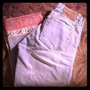 Vintage London Jean denim capris